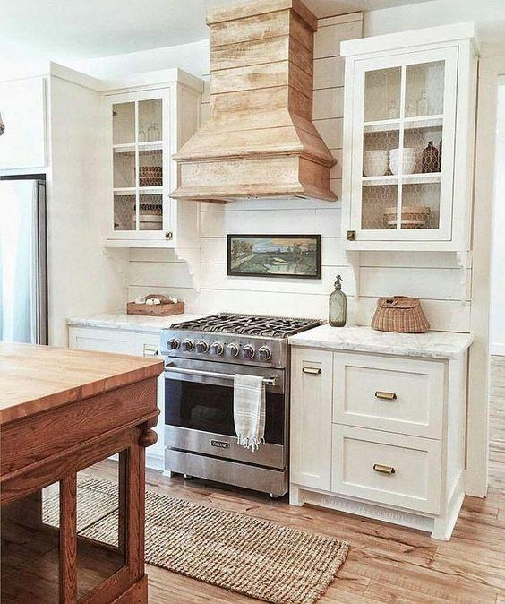 12 Inspiring Kitchen Island Ideas: 12 Inspiring Modern Farmhouse Designs For The Perfect Kitchen